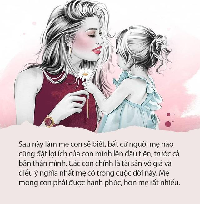 Nghẹn lòng với bức thư viết cho con gái của bà mẹ thất bại: Hãy lựa chọn vì hạnh phúc của chính con chứ không phải làm hài lòng 1 ai khác - Ảnh 4.