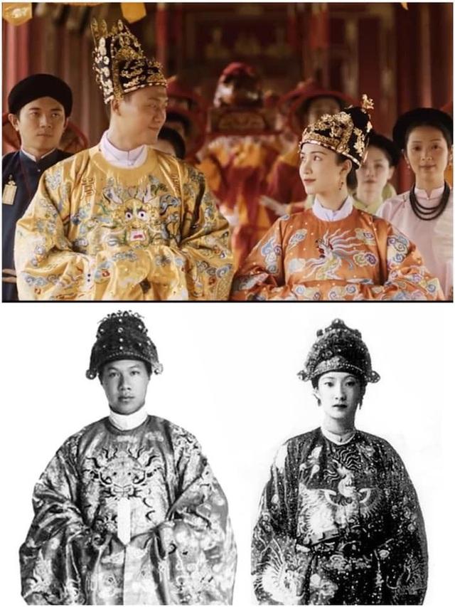 Hòa Minzy bị chê khi hoá thân Nam Phương Hoàng hậu - Ảnh 4.
