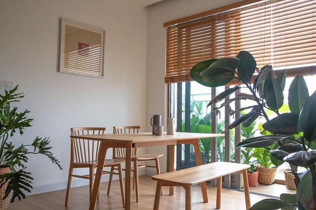 Căn hộ với đồ nội thất được làm hoàn toàn từ gỗ tự nhiên - Ảnh 1.