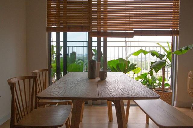 Căn hộ với đồ nội thất được làm hoàn toàn từ gỗ tự nhiên - Ảnh 3.