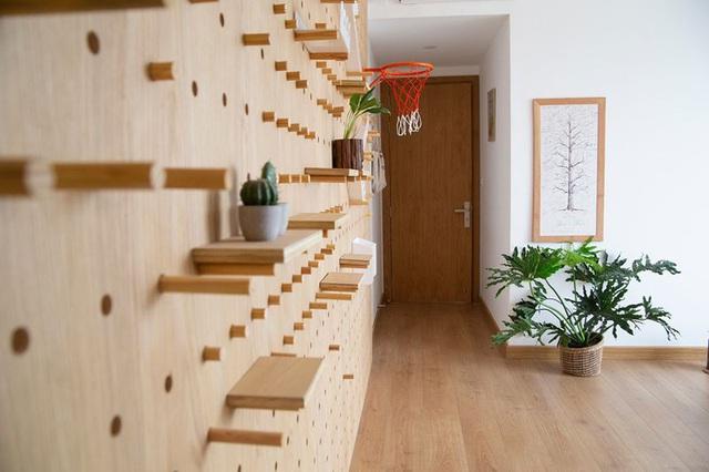 Căn hộ với đồ nội thất được làm hoàn toàn từ gỗ tự nhiên - Ảnh 10.