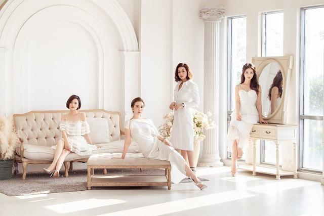 4 mỹ nhân Tình yêu và tham vọng quyến rũ với váy trắng - Ảnh 2.