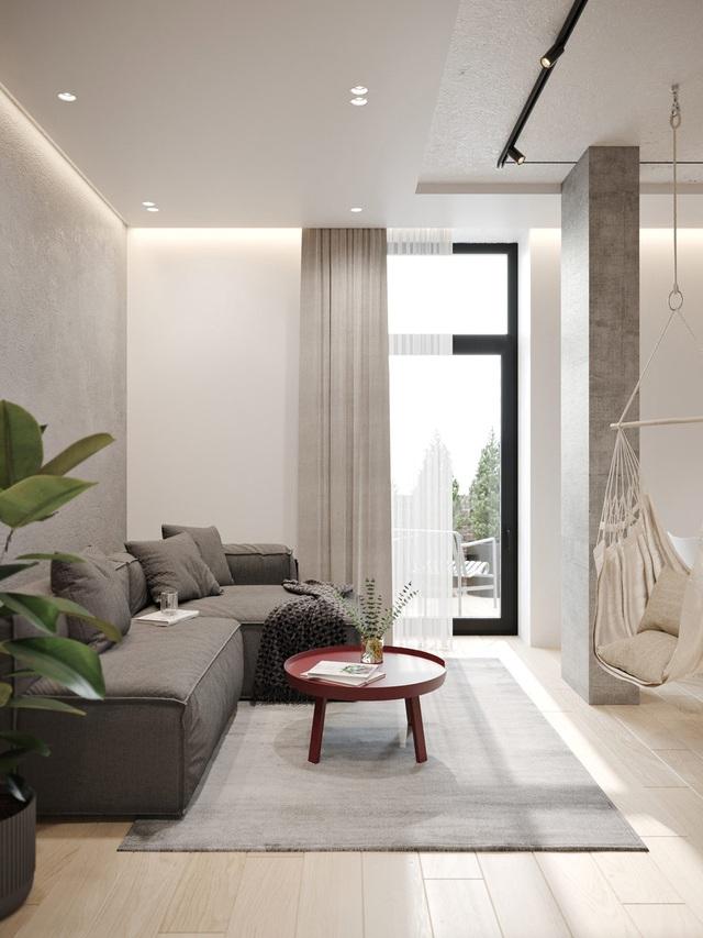 Ngắm nhà nhỏ chưa tới 50m² được dày công thiết kế theo phong cách công nghiệp đơn giản nhưng sang trọng - Ảnh 2.