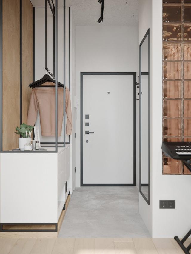 Ngắm nhà nhỏ chưa tới 50m² được dày công thiết kế theo phong cách công nghiệp đơn giản nhưng sang trọng - Ảnh 11.