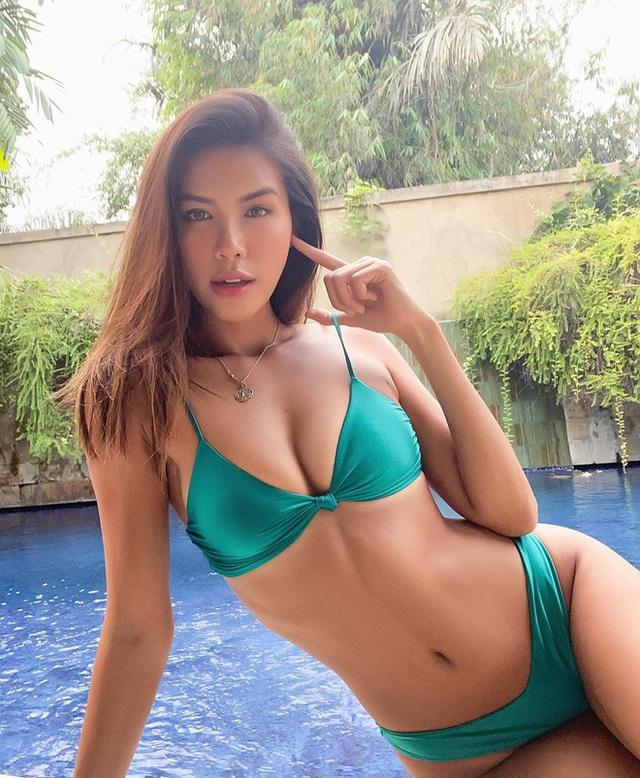 Mới đầu hè, sao Việt đã thi nhau thả dáng với đồ bơi, hot đỉnh cao là Hà Tăng - Ảnh 12.