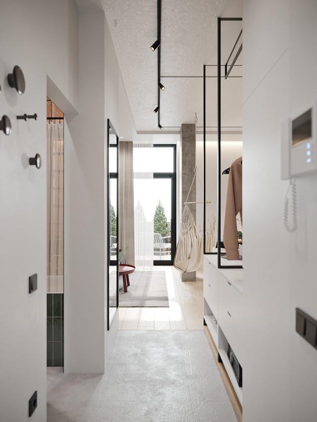 Ngắm nhà nhỏ chưa tới 50m² được dày công thiết kế theo phong cách công nghiệp đơn giản nhưng sang trọng - Ảnh 12.