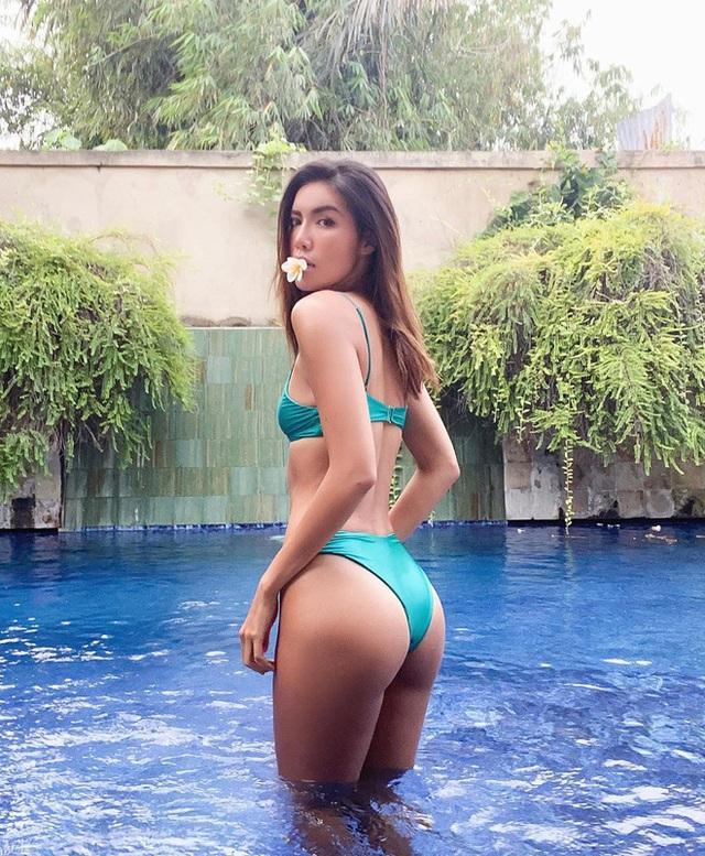 Mới đầu hè, sao Việt đã thi nhau thả dáng với đồ bơi, hot đỉnh cao là Hà Tăng - Ảnh 13.