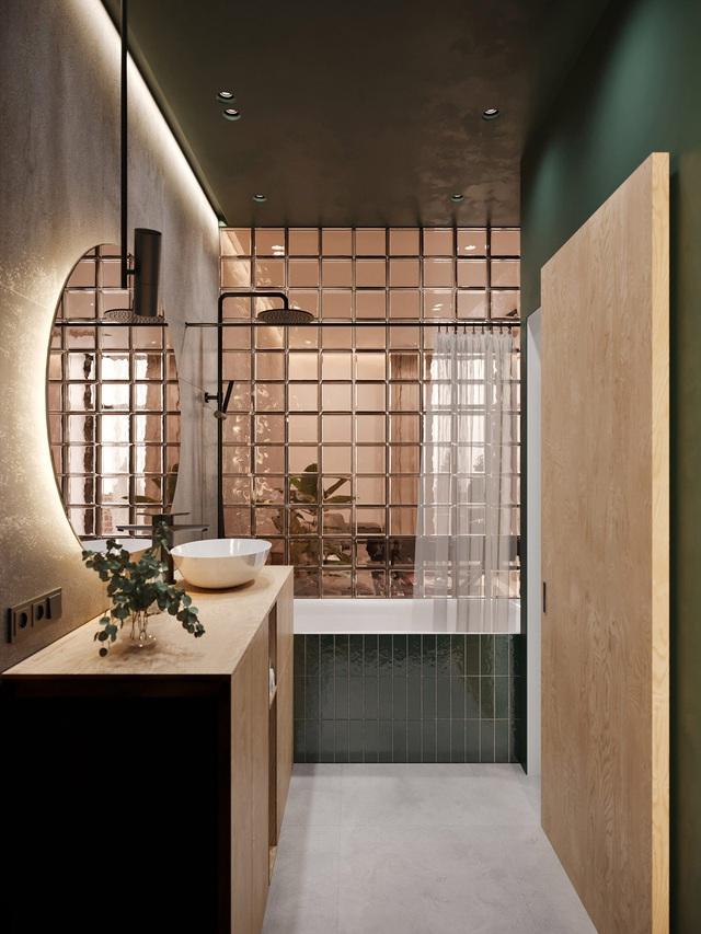 Ngắm nhà nhỏ chưa tới 50m² được dày công thiết kế theo phong cách công nghiệp đơn giản nhưng sang trọng - Ảnh 13.