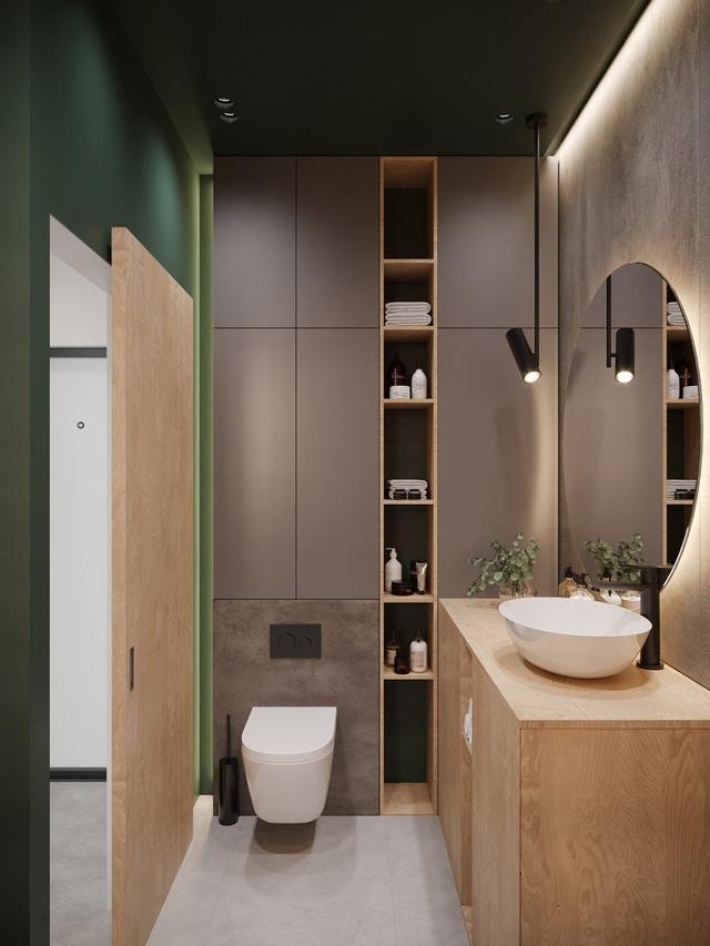 Ngắm nhà nhỏ chưa tới 50m² được dày công thiết kế theo phong cách công nghiệp đơn giản nhưng sang trọng - Ảnh 14.
