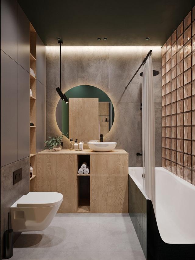 Ngắm nhà nhỏ chưa tới 50m² được dày công thiết kế theo phong cách công nghiệp đơn giản nhưng sang trọng - Ảnh 15.