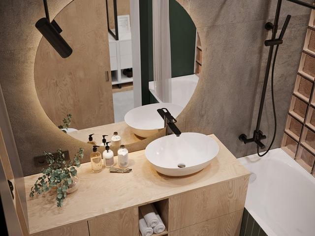 Ngắm nhà nhỏ chưa tới 50m² được dày công thiết kế theo phong cách công nghiệp đơn giản nhưng sang trọng - Ảnh 16.