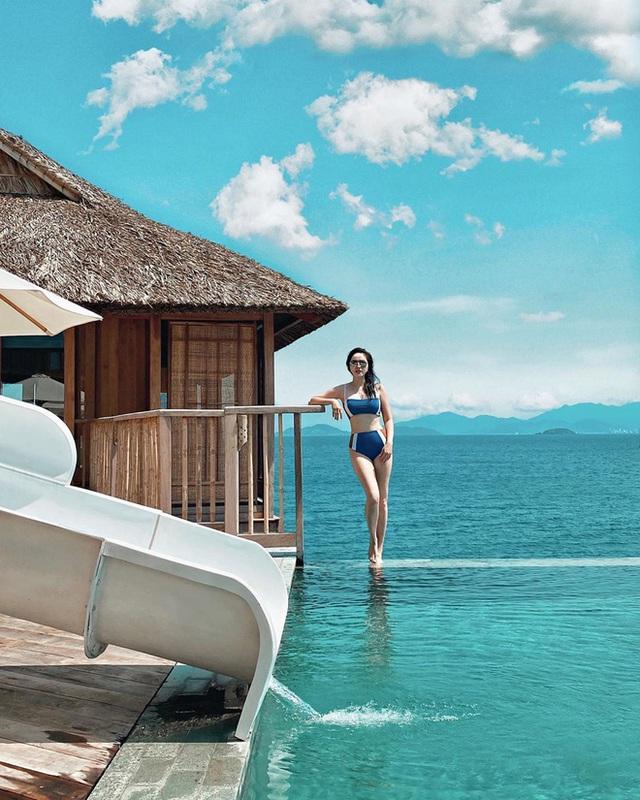 Mới đầu hè, sao Việt đã thi nhau thả dáng với đồ bơi, hot đỉnh cao là Hà Tăng - Ảnh 3.
