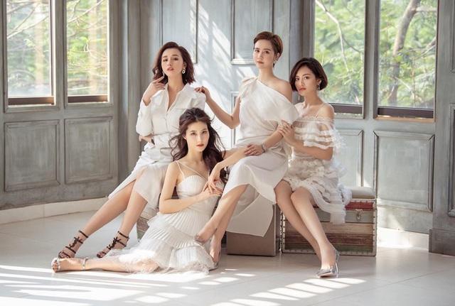 4 mỹ nhân Tình yêu và tham vọng quyến rũ với váy trắng - Ảnh 4.