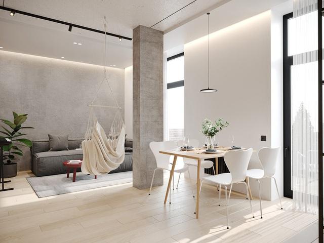 Ngắm nhà nhỏ chưa tới 50m² được dày công thiết kế theo phong cách công nghiệp đơn giản nhưng sang trọng - Ảnh 5.