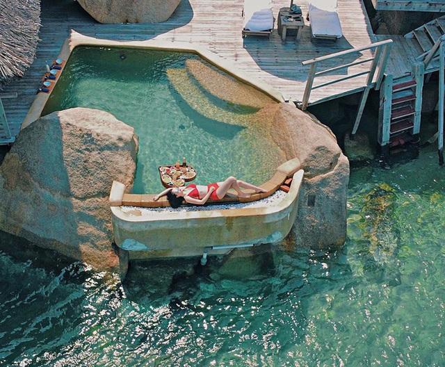 Mới đầu hè, sao Việt đã thi nhau thả dáng với đồ bơi, hot đỉnh cao là Hà Tăng - Ảnh 6.