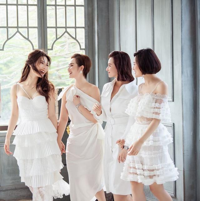 4 mỹ nhân Tình yêu và tham vọng quyến rũ với váy trắng - Ảnh 6.