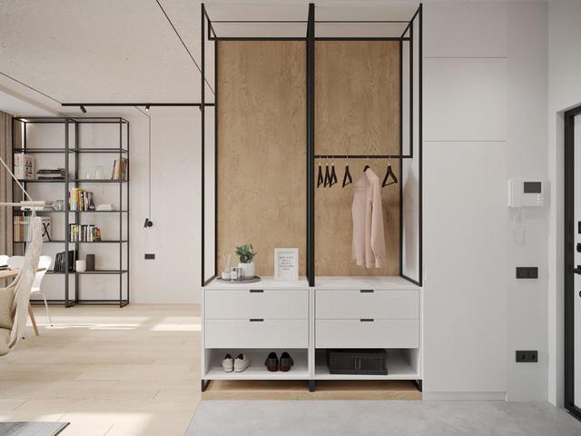 Ngắm nhà nhỏ chưa tới 50m² được dày công thiết kế theo phong cách công nghiệp đơn giản nhưng sang trọng - Ảnh 10.
