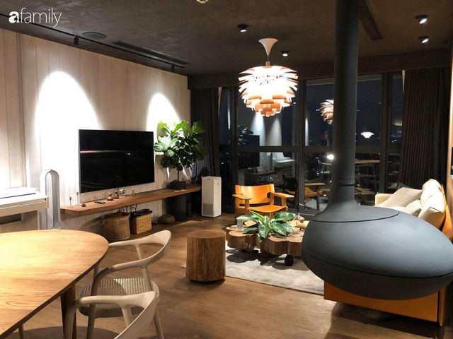 Ngắm không gian sống thư giãn cuối tuần của nữ MC Hải Vân trong căn hộ cao cấp 120m² ngay giữa lòng thành phố  - Ảnh 1.