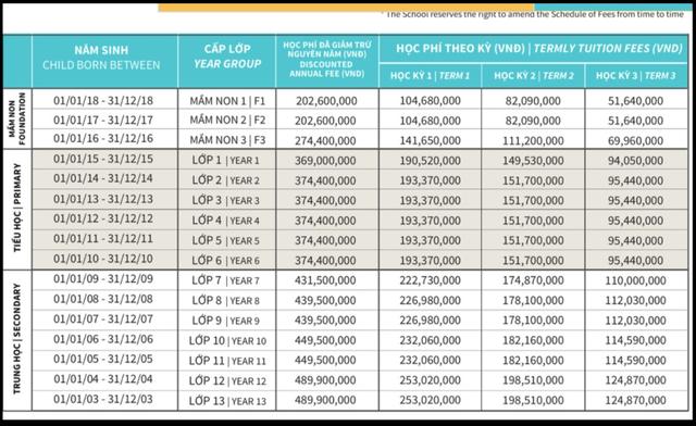Sốc với mức học phí lên đến cả tỷ đồng/năm của các trường quốc tế ở TP.HCM - Ảnh 5.