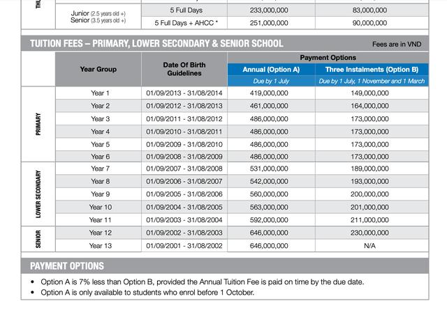 Sốc với mức học phí lên đến cả tỷ đồng/năm của các trường quốc tế ở TP.HCM - Ảnh 4.