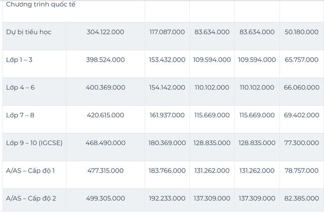 Sốc với mức học phí lên đến cả tỷ đồng/năm của các trường quốc tế ở TP.HCM - Ảnh 8.