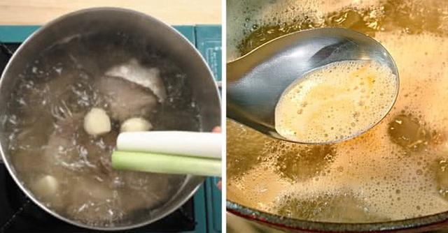 Thêm thìa gia vị này rang chín, nước xương hầm trong, ngọt sâu, hết sạch cả mùi hôi - Ảnh 3.