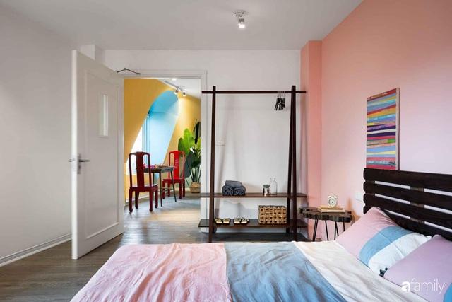 Ngôi nhà biến hóa linh hoạt với đủ sắc màu rực rỡ của bà mẹ trẻ xinh đẹp ở Hà Nội - Ảnh 13.