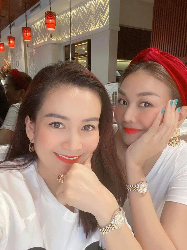 Bà xã Bình Minh ngày càng trẻ, đọ sắc với Hoa hậu vẫn không thua kém nhờ chăm thể thao - Ảnh 7.