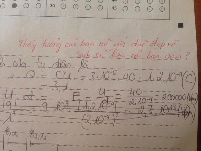 Kiểm tra Văn nhưng lại thích chêm tiếng Anh, nam sinh bị cô giáo vặn lại, nhìn lời phê mà toát mồ hôi - Ảnh 5.