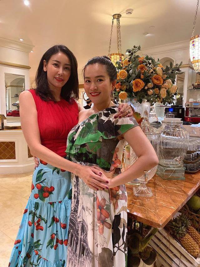 Bà xã Bình Minh ngày càng trẻ, đọ sắc với Hoa hậu vẫn không thua kém nhờ chăm thể thao - Ảnh 4.