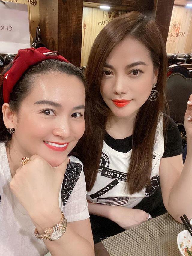 Bà xã Bình Minh ngày càng trẻ, đọ sắc với Hoa hậu vẫn không thua kém nhờ chăm thể thao - Ảnh 6.