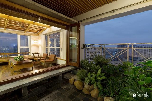 Căn hộ tầng 26 phá vỡ khuôn mẫu cứng nhắc để biến thành resort trên cao với ánh sáng và cây xanh đẹp mắt ở Cầu Giấy, Hà Nội - Ảnh 11.