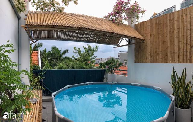 Giữa Sài Gòn náo nhiệt, vẫn có căn nhà ống cực chill và không gian xanh mát với chi phí 20 triệu đồng mua cây xanh - Ảnh 12.