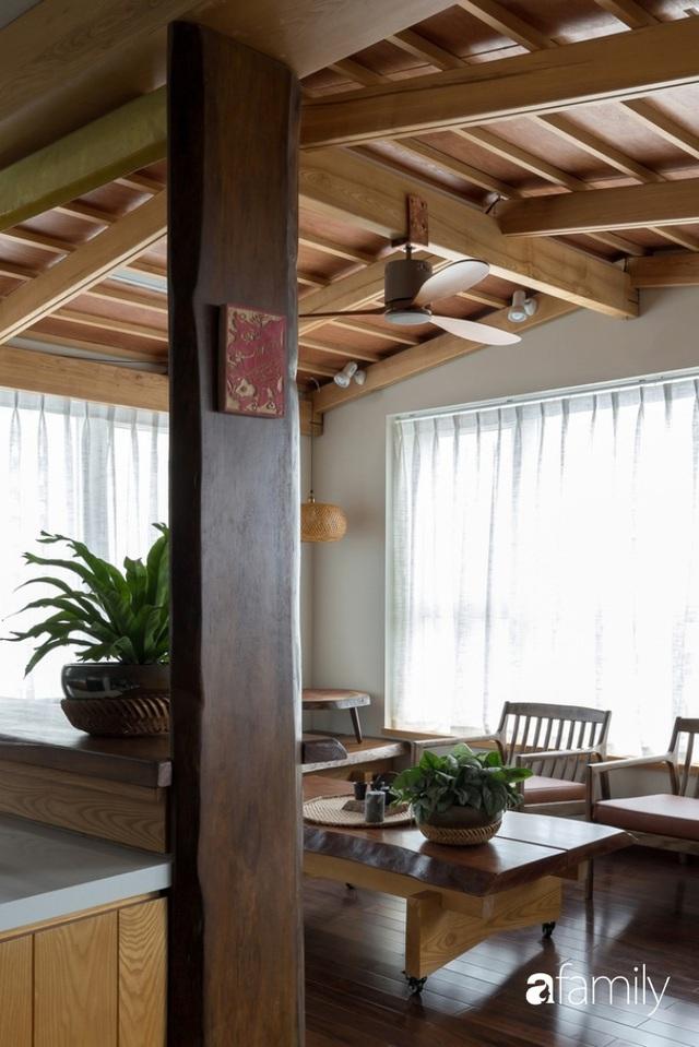 Căn hộ tầng 26 phá vỡ khuôn mẫu cứng nhắc để biến thành resort trên cao với ánh sáng và cây xanh đẹp mắt ở Cầu Giấy, Hà Nội - Ảnh 14.