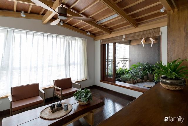 Căn hộ tầng 26 phá vỡ khuôn mẫu cứng nhắc để biến thành resort trên cao với ánh sáng và cây xanh đẹp mắt ở Cầu Giấy, Hà Nội - Ảnh 5.