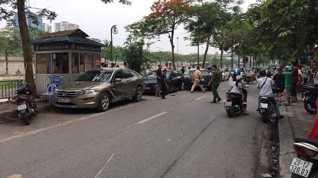 Danh tính nữ tài xế Mercedes gây tai nạn liên hoàn ở Hà Nội - Ảnh 1.