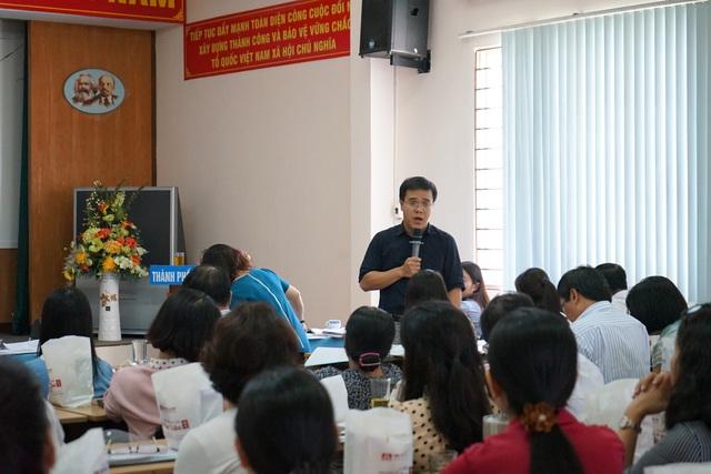 TP.HCM: Hội nghị triển khai Chiến dịch truyền thông lồng ghép với cung cấp dịch vụ Chăm sóc Sức khỏe sinh sản - KHHGĐ và nâng cao chất lượng Dân số năm 2020 - Ảnh 3.