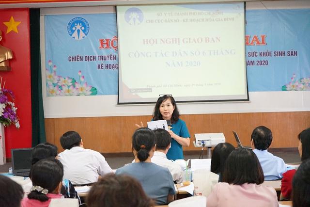 TP.HCM: Hội nghị triển khai Chiến dịch truyền thông lồng ghép với cung cấp dịch vụ Chăm sóc Sức khỏe sinh sản - KHHGĐ và nâng cao chất lượng Dân số năm 2020 - Ảnh 2.