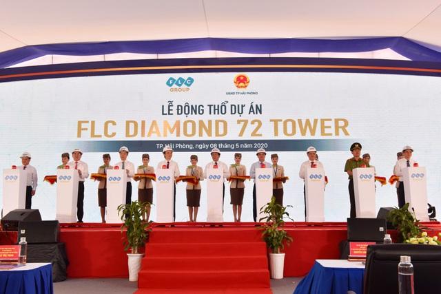 Hải Phòng khởi công xây dựng tòa tháp FLC       Diamond 72 tầng và thông xe tuyến đường 1,3 nghìn tỉ - Ảnh 2.