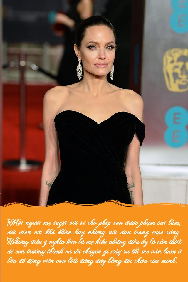 Bố mẹ nào cũng muốn tạo hình ảnh hoàn hảo trong mắt con cái, Angelina Jolie khuyên điều ngược lại - Ảnh 7.