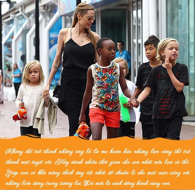 Bố mẹ nào cũng muốn tạo hình ảnh hoàn hảo trong mắt con cái, Angelina Jolie khuyên điều ngược lại - Ảnh 5.