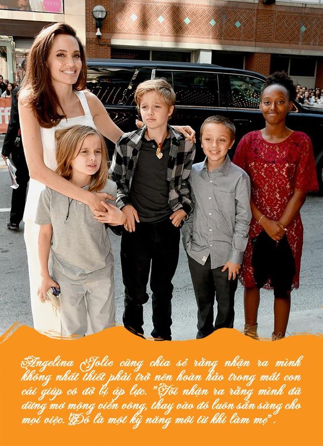 Bố mẹ nào cũng muốn tạo hình ảnh hoàn hảo trong mắt con cái, Angelina Jolie khuyên điều ngược lại - Ảnh 4.