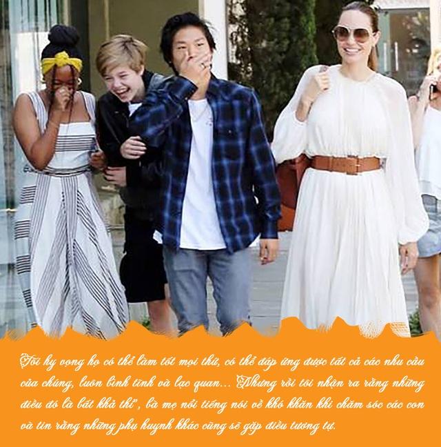 Bố mẹ nào cũng muốn tạo hình ảnh hoàn hảo trong mắt con cái, Angelina Jolie khuyên điều ngược lại - Ảnh 2.