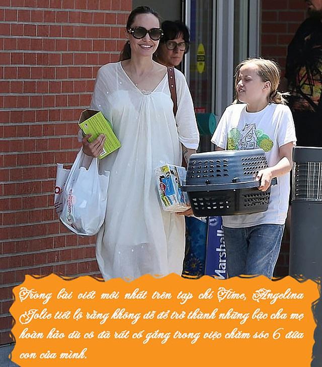 Bố mẹ nào cũng muốn tạo hình ảnh hoàn hảo trong mắt con cái, Angelina Jolie khuyên điều ngược lại - Ảnh 1.
