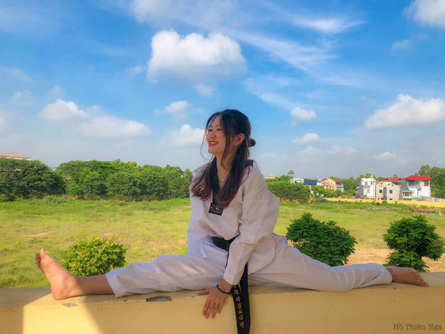 10X trường Kinh tế Quốc dân đam mê taekwondo - Ảnh 3.
