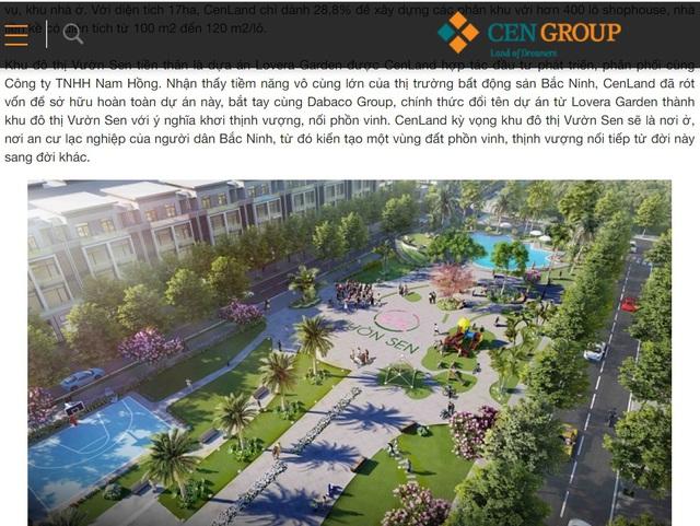 CenLand lừa dối khách hàng tại Dự án KĐT Vườn Sen Bắc Ninh như thế nào? - Ảnh 5.