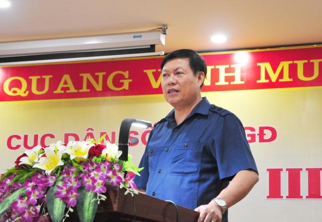 Đại hội Đảng bộ Tổng cục Dân số (Bộ Y tế): Vượt qua thách thức, tạo lợi thế cho giai đoạn tiếp theo - Ảnh 3.