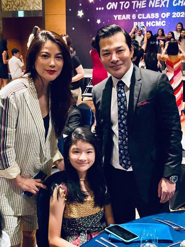 Trương Ngọc Ánh và Trần Bảo Sơn bên nhau trong tiệc của con gái - Ảnh 1.