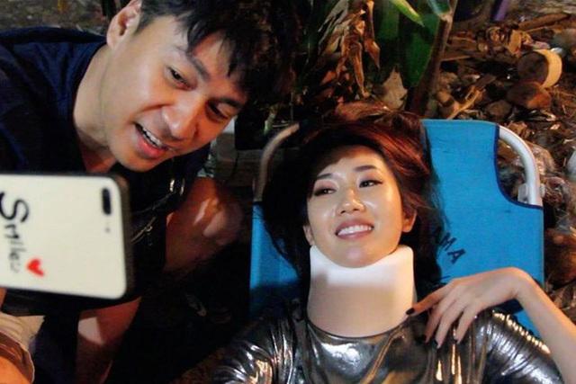 Thúy Ngân, Thanh Bình chấn thương khi quay phim hành động - Ảnh 3.