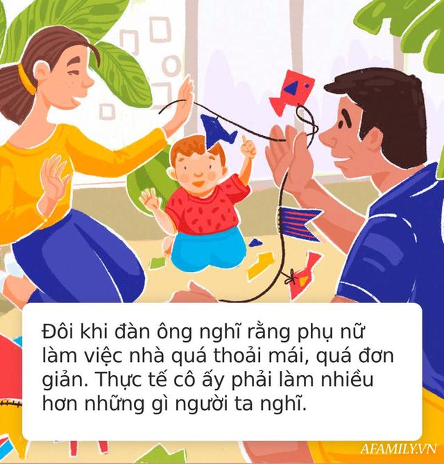 Bức thư bố gửi con trai trước đêm kết hôn khiến ai cũng tâm đắc: Người chồng tốt là người luôn biết cách giúp vợ làm việc nhà! - Ảnh 3.